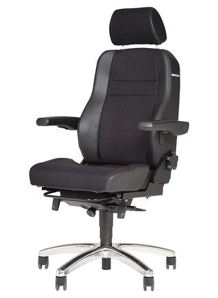Black BMA Secur24 chair profile