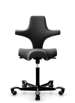 Black HÅG Capisco chair profile