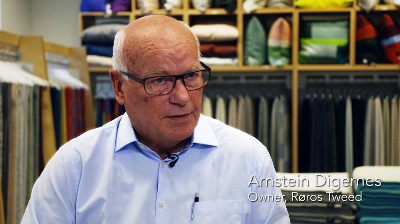 Roros Tweed owner Arnstein Digernes