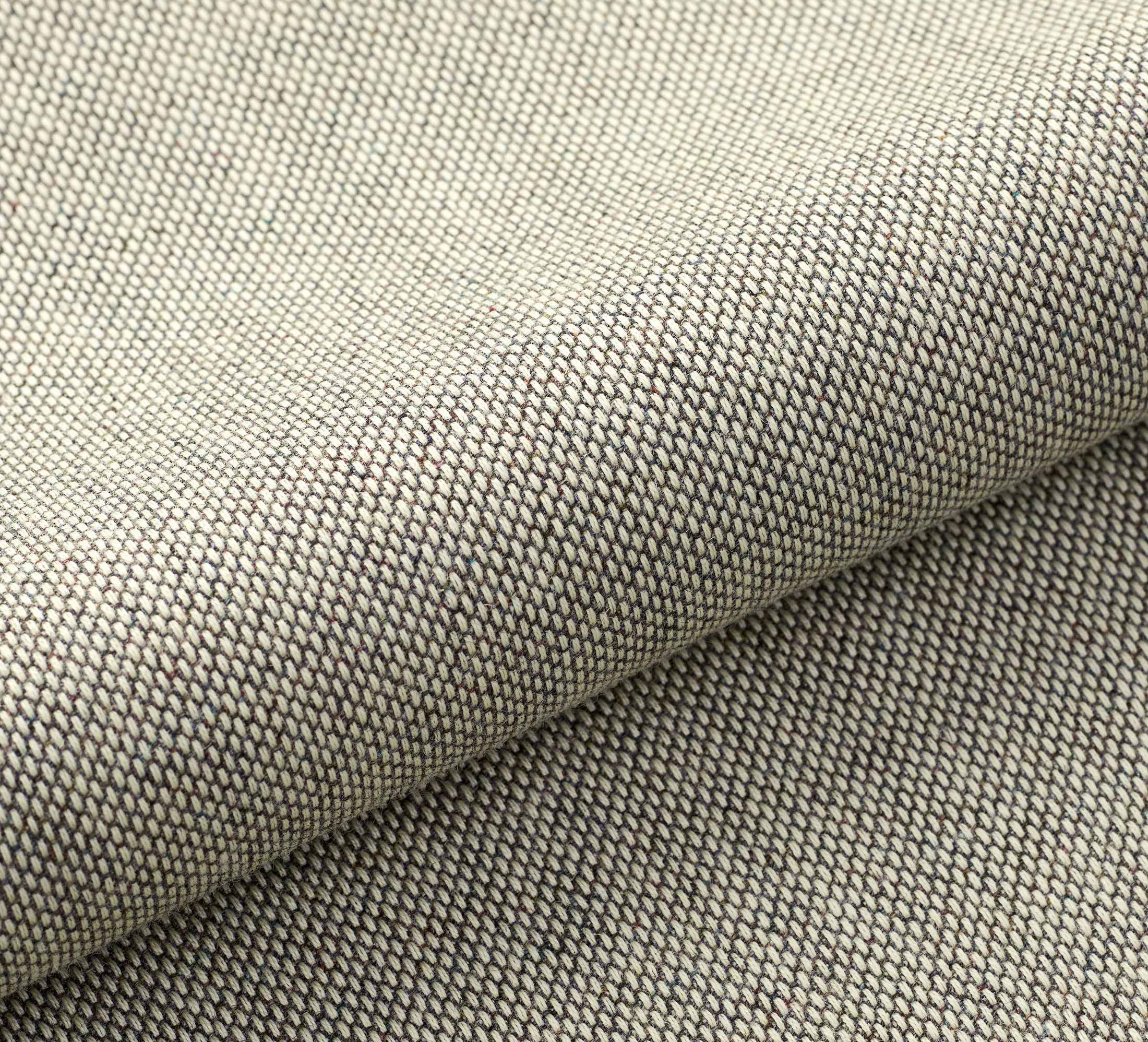 closeup of re-wool fabric by Kvadrat