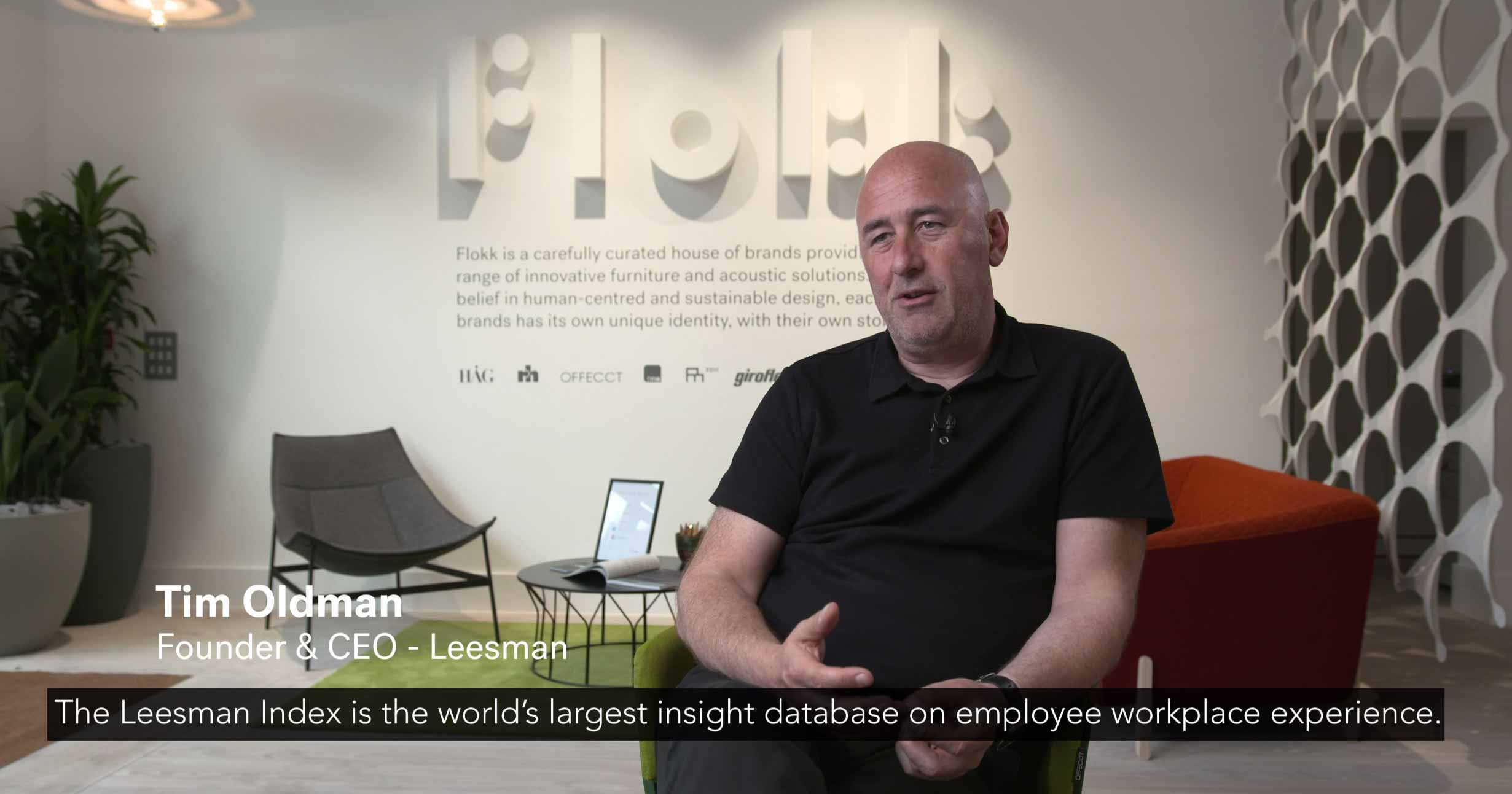 how big data effects workplace design with leesman index - interview with Tim Oldman