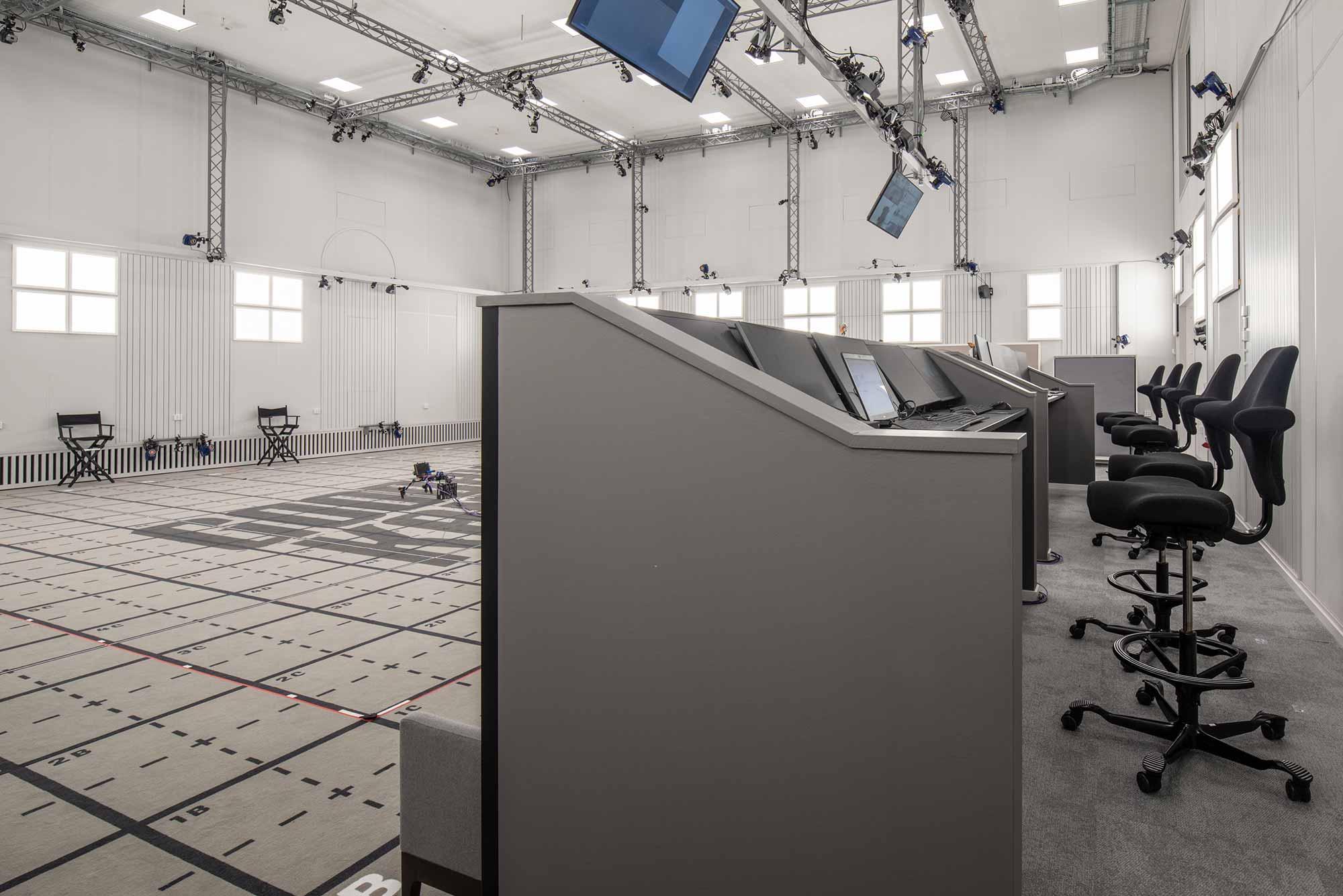 Goodbye Kansas Motion Capture studio featuring HÅG Capisco chairs