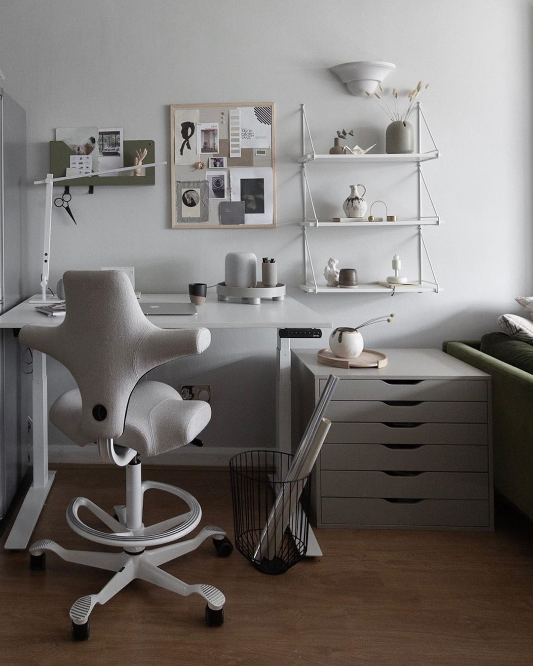 HÅG Capisco in grey - designing your home office, tips and advice