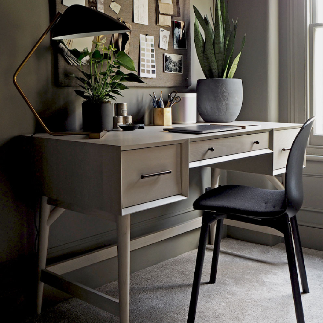 RBM Noor in black - tips for designing a home office for working from home